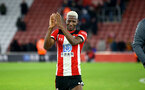 SOUTHAMPTON, ENGLAND - DECEMBER 28: Moussa Djenepo during the Premier League match between Southampton FC and Crystal Palace at St Mary's Stadium, on December 28, 2019 in Southampton, United Kingdom. (Photo by Isabelle Field/Getty Images)