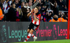 SOUTHAMPTON, ENGLAND - DECEMBER 28: Jan Bednarek during the Premier League match between Southampton FC and Crystal Palace at St Mary's Stadium, on December 28, 2019 in Southampton, United Kingdom. (Photo by Isabelle Field/Getty Images)