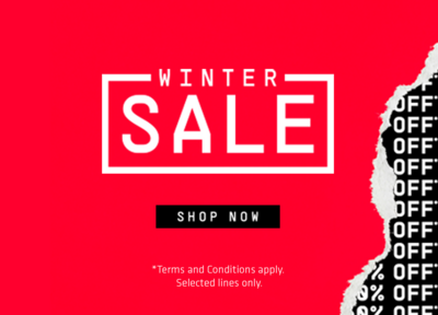 Winter Sale ends this weekend