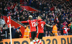SOUTHAMPTON, ENGLAND - JANUARY 01: during the Premier League match between Southampton FC and Tottenham Hotspur at St Mary's Stadium on January 1, 2020 in Southampton, United Kingdom. (Photo by Isabelle Field/Southampton FC via Getty Images)