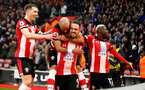 SOUTHAMPTON, ENGLAND - JANUARY 01: Danny Ings of Southampton celebrates with his team mates during the Premier League match between Southampton FC and Tottenham Hotspur at St Mary's Stadium on January 01, 2020 in Southampton, United Kingdom. (Photo by Matt Watson/Southampton FC via Getty Images)