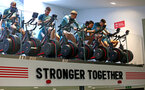 SOUTHAMPTON, ENGLAND - JANUARY 02: Players on exercise bikes during a Southampton FC recovery session at the Staplewood Campus on January 02, 2020 in Southampton, England. (Photo by Matt Watson/Southampton FC via Getty Images)