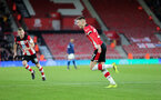 SOUTHAMPTON, ENGLAND - JANUARY 04: Will Smallbone's goal celebration during the FA Cup, Third Round, match between Southampton FC and Huddersfield Town at St Mary's Stadium on January 4, 2020 in Southampton, United Kingdom. (Photo by Chris Moorhouse/Southampton FC via Getty Images)
