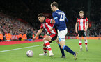 SOUTHAMPTON, ENGLAND - JANUARY 04: Che Adams during the FA Cup, Third Round, match between Southampton FC and Huddersfield Town at St Mary's Stadium on January 4, 2020 in Southampton, United Kingdom. (Photo by Chris Moorhouse/Southampton FC via Getty Images)