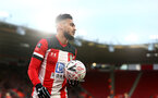 SOUTHAMPTON, ENGLAND - JANUARY 04: Sofiane Boufal of Southampton during the FA Cup Third Round match between Southampton FC and Huddersfield Town at St. Mary's Stadium on January 04, 2020 in Southampton, England. (Photo by Matt Watson/Getty Images)