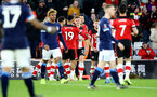 SOUTHAMPTON, ENGLAND - JANUARY 04: Will Smallbone of Southampton celebrates after scoring during the FA Cup Third Round match between Southampton FC and Huddersfield Town at St. Mary's Stadium on January 04, 2020 in Southampton, England. (Photo by Matt Watson/Getty Images)