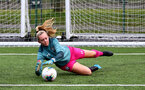 SOUTHAMPTON, ENGLAND - JANUARY 05: warm up ahead of the Woman's FA Cup third round match between Cardiff City Ladies and Southampton Women's FC at CCB, Centre for Sporting Excellence Stadium on January 5, 2020 in Cardiff, United Kingdom. (Photo by Isabelle Field/Southampton FC via Getty Images)