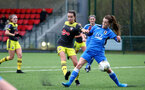 SOUTHAMPTON, ENGLAND - JANUARY 05: Sophia Pharoah during Woman's FA Cup third round match between Cardiff City Ladies and Southampton Women's FC at CCB, Centre for Sporting Excellence Stadium on January 5, 2020 in Cardiff, United Kingdom. (Photo by Isabelle Field/Southampton FC via Getty Images)