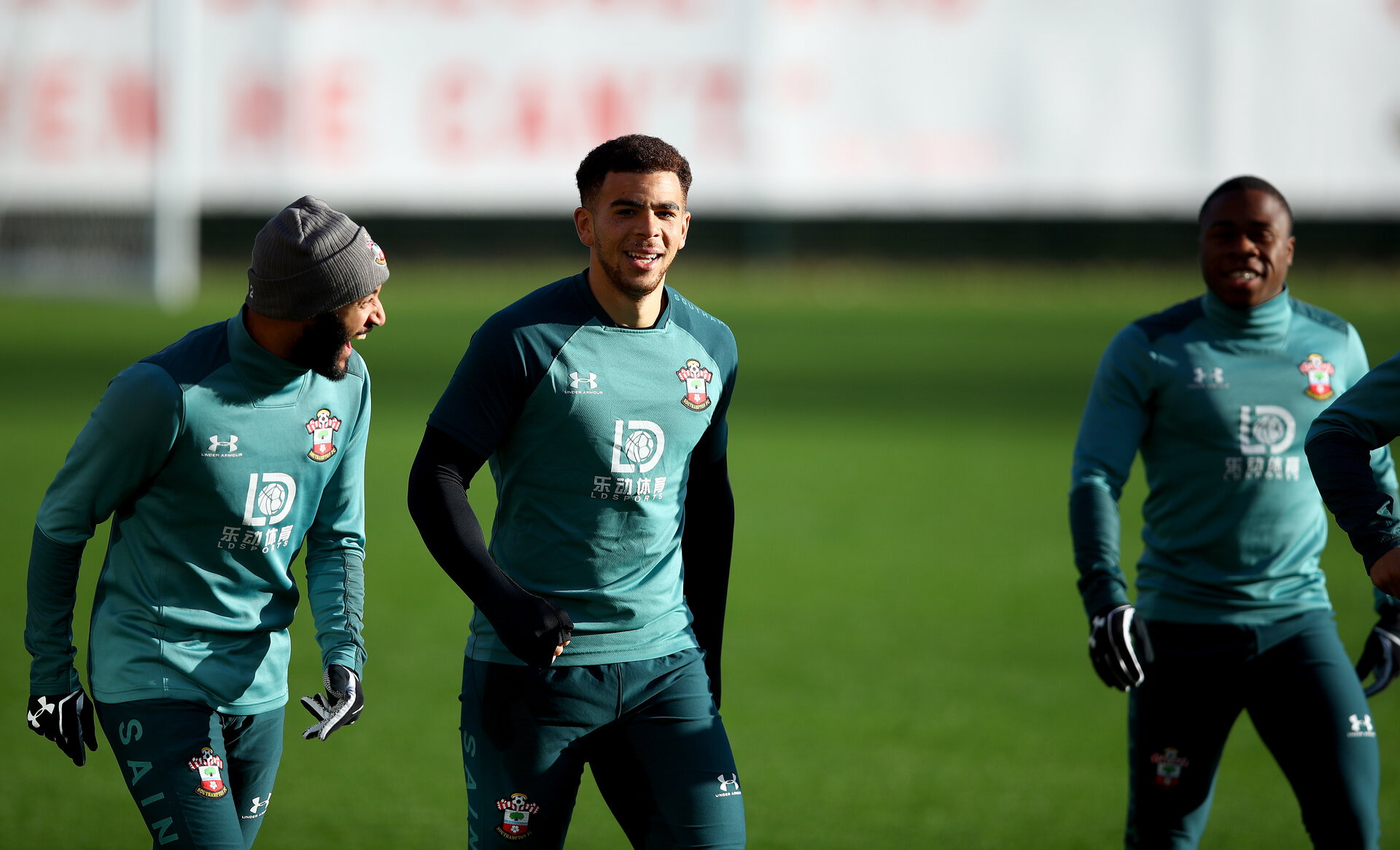 SOUTHAMPTON, ENGLAND - JANUARY 09: Ché Adams during a Southampton FC training session at the Staplewood Campus on January 09, 2020 in Southampton, England. (Photo by Matt Watson/Southampton FC via Getty Images)