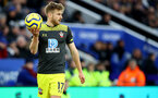 LEICESTER, ENGLAND - JANUARY 11: Stuart Armstrong of Southampton during the Premier League match between Leicester City and Southampton FC at The King Power Stadium on January 11, 2020 in Leicester, United Kingdom. (Photo by Matt Watson/Southampton FC via Getty Images)