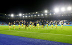LEICESTER, ENGLAND - JANUARY 11: Southampton players celebrate after the Premier League match between Leicester City and Southampton FC at The King Power Stadium on January 11, 2020 in Leicester, United Kingdom. (Photo by Matt Watson/Southampton FC via Getty Images)