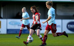 SOUTHAMPTON, ENGLAND - JANUARY 12: Rachel Panting during the SRWFL at Snow's Stadium between Southampton Women and Chesham on January 12 2020, Totton, England. (Photo by Isabelle Field/Southampton FC via Getty Images)