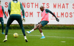 SOUTHAMPTON, ENGLAND - JANUARY 14: Moussa Djenepo during a Southampton FC training session at the Staplewood Campus on January 14, 2020 in Southampton, England. (Photo by Matt Watson/Southampton FC via Getty Images)