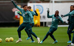 SOUTHAMPTON, ENGLAND - JANUARY 16: Ché Adams(L) during a Southampton FC training session at the Staplewood Campus on January 16, 2020 in Southampton, England. (Photo by Matt Watson/Southampton FC via Getty Images)