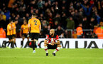 SOUTHAMPTON, ENGLAND - JANUARY 18: Nathan Redmond of Southampton during the Premier League match between Southampton FC and Wolverhampton Wanderers at St Mary's Stadium on January 18, 2020 in Southampton, United Kingdom. (Photo by Matt Watson/Southampton FC via Getty Images)