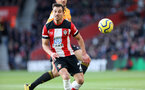SOUTHAMPTON, ENGLAND - JANUARY 18: Cedric Soares during the Premier League match between Southampton FC and Wolverhampton Wanderers at St Marys Stadium on January 18, 2020 in Southampton, United Kingdom. (Photo by Chris Moorhouse/Southampton FC via Getty Images)