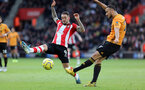 SOUTHAMPTON, ENGLAND - JANUARY 18: Danny Ings during the Premier League match between Southampton FC and Wolverhampton Wanderers at St Marys Stadium on January 18, 2020 in Southampton, United Kingdom. (Photo by Chris Moorhouse/Southampton FC via Getty Images)