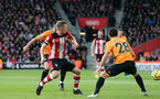 SOUTHAMPTON, ENGLAND - JANUARY 18: James Ward-Prowse during the Premier League match between Southampton FC and Wolverhampton Wanderers at St Marys Stadium on January 18, 2020 in Southampton, United Kingdom. (Photo by Chris Moorhouse/Southampton FC via Getty Images)