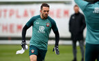 SOUTHAMPTON, ENGLAND - JANUARY 23: Danny Ings during a Southampton FC training session at the Staplewood Campus on January 23, 2020 in Southampton, England. (Photo by Matt Watson/Southampton FC via Getty Images)