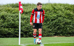 SOUTHAMPTON, ENGLAND - JANUARY 23: Seamas Keogh of Southampton FC during the Barclays Under 18 Premier League match between Southampton FC and Swansea City at the Staplewood Campus on January 23, 2020 in Southampton, England