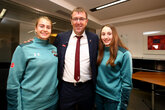 Video: Le Tissier surprises Saints stars