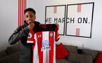 SOUTHAMPTON, ENGLAND - JANUARY 28: Kyle Walker-Peters joins Southampton FC on loan from Tottenham Hotspur, pictured at the Staplewood Campus on January 28, 2020 in Southampton, England. (Photo by Matt Watson/Southampton FC via Getty Images)