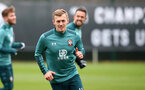 SOUTHAMPTON, ENGLAND - JANUARY 30: James Ward-Prowse during a Southampton FC training session at the Staplewood Campus on January 30, 2020 in Southampton, England. (Photo by Matt Watson/Southampton FC via Getty Images)