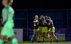 PORTSMOUTH, ENGLAND - FEBRUARY 05: during the National League Cup quarter-final game between Portsmouth and Southampton Women at Privett Park Stadium on February 05, 2020 in Portsmouth, England. (Photo by Isabelle Field/Southampton FC via Getty Images)