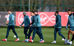 SOUTHAMPTON, ENGLAND - FEBRUARY 11: Shane Long(centre) during a Southampton FC training session at the Staplewood Campus on February 11, 2020 in Southampton, England. (Photo by Matt Watson/Southampton FC via Getty Images)