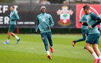 SOUTHAMPTON, ENGLAND - FEBRUARY 13: Kevin Danso during a Southampton FC training session at the Staplewood Complex on February 13, 2020 in Southampton, England. (Photo by Matt Watson/Southampton FC via Getty Images)