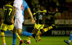 BLACKBURN, ENGLAND - November 27: Kgaogelo Chauke of Southampton during PL2 match between Blackburn and Southampton at Lancashire County FA on February 14 2020, in Blackburn  (Photo by Isabelle Field/Southampton FC via Getty Images)
