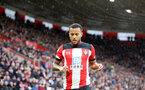 SOUTHAMPTON, ENGLAND - FEBRUARY 15: Ryan Bertrand during the Premier League match between Southampton FC and Burnley FC at St Mary's Stadium on February 8, 2020 in Southampton, United Kingdom. (Photo by Chris Moorhouse/Southampton FC via Getty Images)