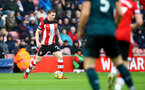 SOUTHAMPTON, ENGLAND - FEBRUARY 15: Pierre-Emile Højbjerg of Southampton during the Premier League match between Southampton FC and Burnley FC at St Mary's Stadium on February 15, 2020 in Southampton, United Kingdom. (Photo by Matt Watson/Southampton FC via Getty Images)