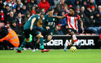 SOUTHAMPTON, ENGLAND - FEBRUARY 15: Kyle Walker-Peters of Southampton during the Premier League match between Southampton FC and Burnley FC at St Mary's Stadium on February 15, 2020 in Southampton, United Kingdom. (Photo by Matt Watson/Southampton FC via Getty Images)