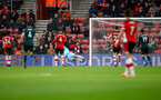 SOUTHAMPTON, ENGLAND - FEBRUARY 15: Burnley score during the Premier League match between Southampton FC and Burnley FC at St Mary's Stadium on February 15, 2020 in Southampton, United Kingdom. (Photo by Matt Watson/Southampton FC via Getty Images)