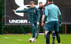 SOUTHAMPTON, ENGLAND - FEBRUARY 20: Stuart Armstrong during a Southampton FC training session at the Staplewood Campus on February 20, 2020 in Southampton, England. (Photo by Matt Watson/Southampton FC via Getty Images)
