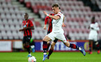 BOURNEMOUTH, ENGLAND - February 21: Kornelious Hansen during the PL2 match at The Vitality Stadium between Bournemouth and Southampton on February 21 2020, Bournemouth, England. (Photo by Isabelle Field/Southampton FC via Getty Images)