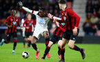 BOURNEMOUTH, ENGLAND - February 21: Dan N'Lundulu during the PL2 match at The Vitality Stadium between Bournemouth and Southampton on February 21 2020, Bournemouth, England. (Photo by Isabelle Field/Southampton FC via Getty Images)