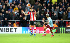 SOUTHAMPTON, ENGLAND - FEBRUARY 22: Jan Bednarek of during the Premier League match between Southampton FC and Aston Villa at St Mary's Stadium on February 22, 2020 in Southampton, United Kingdom. (Photo by Matt Watson/Southampton FC via Getty Images)