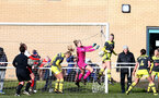 SUNDERLAND, ENGLAND - February 23: Kayla Rendell during the FAWNL semi-final at The Eppleton Colliery Welfare Ground between Sunderland and Southampton Women on February 23 2020, Sunderland, England. (Photo by Isabelle Field/Southampton FC via Getty Images)