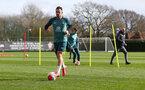 SOUTHAMPTON, ENGLAND - FEBRUARY 25: Danny Ings during a Southampton FC training session at the Staplewood Campus on February 25, 2020 in Southampton, England. (Photo by Matt Watson/Southampton FC via Getty Images)