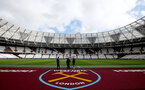 LONDON, ENGLAND - FEBRUARY 29: A general view ahead of the Premier League match between West Ham United and Southampton FC at London Stadium on February 29, 2020 in London, United Kingdom. (Photo by Matt Watson/Southampton FC via Getty Images)