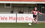 SOUTHAMPTON, ENGLAND - March 1: Rachel Woods of Southampton FC Womens during the FA WomenÕs National League match between Southampton Women and Maidenhead United at Staplewood Campus on March 1 2020, Exeter, England. (Photo by Tom Mulholland/Southampton FC) SOUTHAMPTON, ENGLAND - March 1: Rachel Woods of Southampton FC Womens during the FA Women's National League match between Southampton Women and Maidenhead United at Staplewood Campus on March 1 2020, Exeter, England. (Photo by Tom Mulholland/Southampton FC)