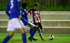 SOUTHAMPTON, ENGLAND - MARCH 02: Jake Vokins during PL2 match between Southampton and Leicester City at Staplewood Training Center on March 02 2020 in Southampton England (Photo by Isabelle Field/Southampton FC via Getty Images)