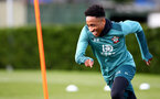 SOUTHAMPTON, ENGLAND - MARCH 03: Kyle Walker-Peters during a Southampton FC training session at the Staplewood Campus on March 03, 2020 in Southampton, England. (Photo by Matt Watson/Southampton FC via Getty Images)