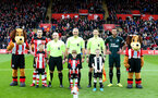 SOUTHAMPTON, ENGLAND - MARCH 07: Centre circle photo during the Premier League match between Southampton FC and Newcastle United at St Mary's Stadium on March 07, 2020 in Southampton, United Kingdom. (Photo by Matt Watson/Southampton FC via Getty Images)