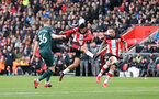 SOUTHAMPTON, ENGLAND - MARCH 07: Sofiane Boufal during the Premier League match between Southampton FC and Newcastle United at St Mary's Stadium on March 7, 2020 in Southampton, United Kingdom. (Photo by Chris Moorhouse/Southampton FC via Getty Images)