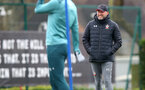 SOUTHAMPTON, ENGLAND - MARCH 10: Ralph Hasenhuttl during a Southampton FC training session at the Staplewood Campus on March 08, 2020 in Southampton, England. (Photo by Matt Watson/Southampton FC via Getty Images)