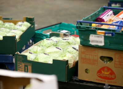 Saints Foundation donate food to NHS Trusts