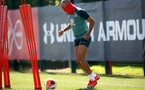 SOUTHAMPTON, ENGLAND - MAY 19: Nathan Redmond as Southampton FC players return to training following Covid-19 restrictions being relaxed, at the Staplewood Campus on May 19, 2020 in Southampton, England. (Photo by Matt Watson/Southampton FC via Getty Images)